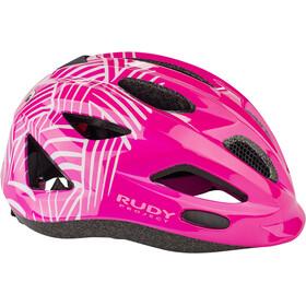 Rudy Project Rocky Helmet Kids purple-white shiny